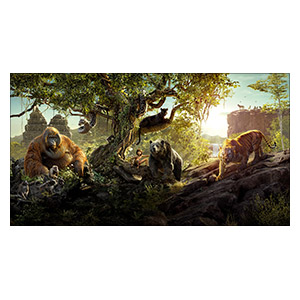 Jungle Book. Размер: 110 х 60 см